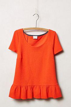 4092102a1e85c Cascata Top - anthropologie.eu Cute Shirts, Orange Tops, Playing Dress Up,