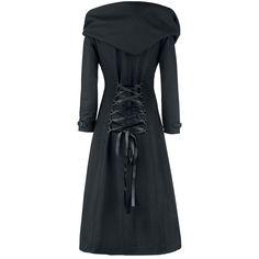 """Gothicana by EMP Wollen jas, Vrouw """"Cinderella"""" zwart • Large"""