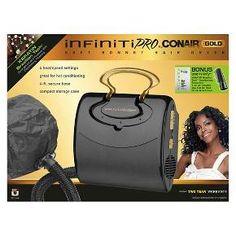 Infiniti Pro Gold by Conair® Soft Bonnet Hair Dryer : Target