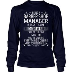 Being a Barber Shop Manager like Riding a Bike Job Title TShirt #gift #ideas #Popular #Everything #Videos #Shop #Animals #pets #Architecture #Art #Cars #motorcycles #Celebrities #DIY #crafts #Design #Education #Entertainment #Food #drink #Gardening #Geek #Hair #beauty #Health #fitness #History #Holidays #events #Home decor #Humor #Illustrations #posters #Kids #parenting #Men #Outdoors #Photography #Products #Quotes #Science #nature #Sports #Tattoos #Technology #Travel #Weddings #Women