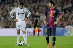 Messi and Cristiano