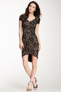 Allie Lace Cap Sleeve Dress