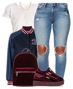 """""""Catch Me x Demi Lovato ❤"""" by trinsowavy ❤ liked on Polyvore featuring Chanel, even&odd, Puma and Ettika"""