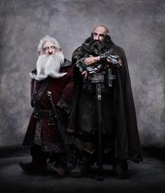 Still of Graham McTavish and Ken Stott in The Hobbit: An Unexpected Journey (2012)