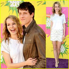 Full sized photo of Bridgit Mendler & Shane Harper - Kids Choice Awards 2013 and bridgit mendler shane harper kcas carpet Check out the latest photos, news and gossip on celebrities and all the big names in pop culture, tv, movies, entertainment and more. Cute Celebrity Couples, Celebrity Pictures, Celebrity News, Cute Couples, Good Luck Charlie Cast, Kids Choice Awards 2013, Shane Harper, Good Luck Chuck, Couple