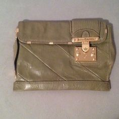 Juicy clutch Green clutch Juicy Couture Bags Clutches & Wristlets