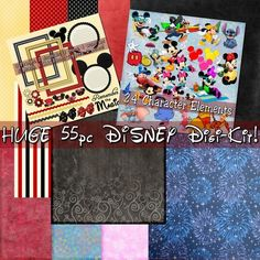 Disney World Digital Scrapbook Kits -        www.MyFunInvite.com      FUN invites at a great price!