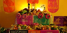 Día de Muertos. A very old mexican tradition to remember and honor the dead, celebrated on November the 2nd. Beautiful to visit in this time of year.