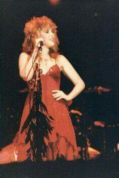 sassy Stevie in red onstage  ☆♥❤♥☆