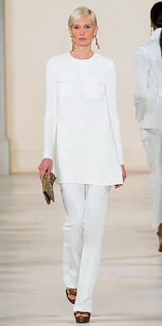Runway Looks We Love: New York Fashion Week - Spring/Summer 2015 - Ralph Lauren - #InStyle