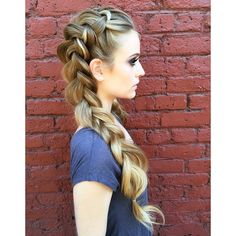 we ❤ this! moncheribridals.com #bridalbraids #weddingbraids #weddinghair #weddingupdo