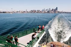 The perfect itinerary for a long weekend in Seattle Washington. From Northwest cuisine to museums and scenic sights, it's all listed here. Seattle Vacation, Downtown Seattle, Seattle Area, Seattle Weekend, Seattle Travel, Bainbridge Island Ferry, Long Week-end, Seattle Washington, Washington State