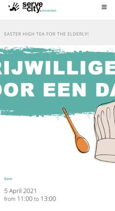 Volunteer to bake for the local elderly and lonely! 🧁🍰🥧 5 April, High Tea, The Locals, Lonely, Amsterdam, City, Kitchen, Tea, Tea Time