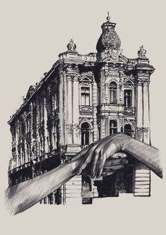 ARCHITECTURE odessa by Dasha Pliska | artnau