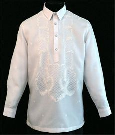 White Barong Tagalog Expertly crafted from the highest-quality Jusi Fabric, this Barong Tagalog shirt features distinguished buttons and an exquisite white finish that's as exquisite as it is subtle. Barong Tagalog Wedding, Barong Wedding, Filipino Wedding, Filipiniana Dress, Line Shopping, Latest Mens Fashion, Suits, Stylish, Point Collar