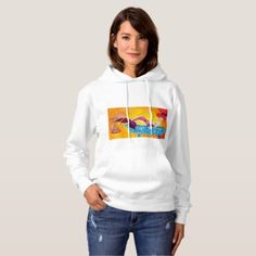 Bubbles Hoodie - ocean side nature waves freedom design