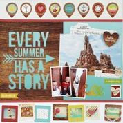 Layout: Every Summer Has A Story