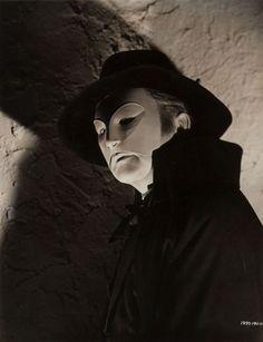 """Claude Rains, """"El fantasma de la Ópera"""", 1943"""