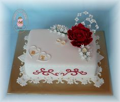 Naplánuj si svatbu   Svatba.cz Mini Tortillas, Fondant, Wedding Anniversary, Cake Decorating, Wedding Cakes, Desserts, Decoration, Food, Ideas