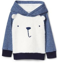 Cozy polar bear hoodie #affiliate