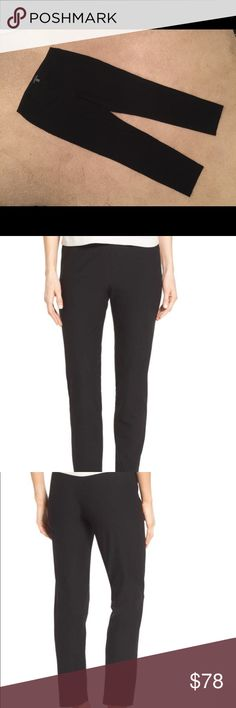 🆕 Eileen Fisher stretch crepe ankle pant Eileen Fisher stretch crepe ankle pant smooth elastic waistband smooth through hips & legs tapers slightly at ankle. EUC black Eileen Fisher Pants Ankle & Cropped