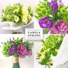 WEDDING BOUQUET  GREEN FLOWERS