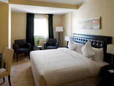 Habitación junior suite del hotel Barceló Cairo Pyramids