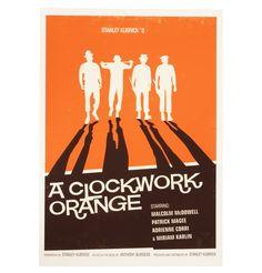 A Clockwork Orange - A3 print