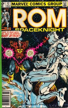 Not Marvel's Finest Moment: Rom Space Knight #12