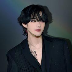 Taehyung Fanart, V Taehyung, Bts Jin, Bts Jungkook, 8bit Art, Dibujos Cute, Bts Drawings, Fan Art, Bts Chibi