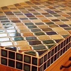 Mosaic Glass, Mosaic Tiles, Small Balcony Design, Interior And Exterior, Interior Design, Feature Tiles, Style Tile, Tile Art, Decoration