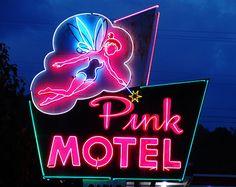 Pink Motel - Cherokee, North Carolina