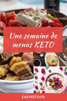 [ Régime Cétogène : un guide complet Discover 7 days of ketogenic menus: from breakfast to dinner and snacks. Learn how to compose your menus according to your macros (and your desires! Ketogenic Diet Plan, Keto Meal Plan, Ketogenic Recipes, Low Carb Recipes, Diet Recipes, Dessert Recipes, Diet Desserts, Keto Diet For Beginners, Recipes For Beginners