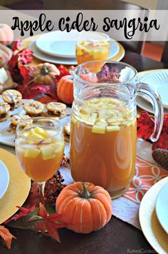 Make this Apple Cider Sangria Drink Recipe in just 5 minutes!