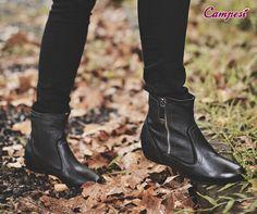 Uma bota preta pode até ser um item básico da temporada, mas aqui entre nós: básico mesmo é o seu conforto, não é? #confortoCampesí