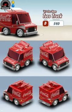 *COCA-COLA ~ toy truck