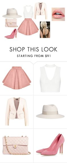 """""""Studio"""" by lightingchamp on Polyvore featuring Maison Michel and Chanel"""