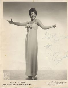 Tammi Terrell an angel like no other.