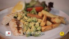 Fish and Chips From National Heart Foundation of Australia