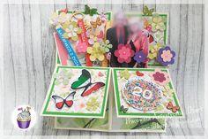 Pracownia artystyczna IKart: Kartka w pudełku na 20stą rocznice ślubu