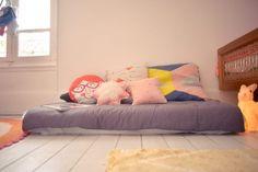 La jolie meulière: L'avant/après de la chambre/salle de jeux des belettes