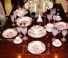 Limoges-Raynaud Co. New 71 pc Vintage Decorated Porcelain Table Service #Raynaud