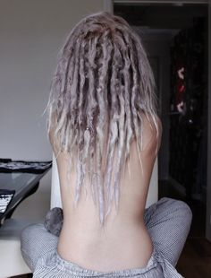 Natural/Neglect dreads. Pretty.