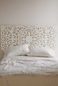 Love this headboard - Balinese style