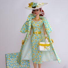 "OOAK Handmade Fashion for Silkstone/Vintage Barbie by Roxy-"" DAISY "" | eBay"