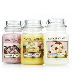 Yankee Candle Devily Delicious 3 Large Jars