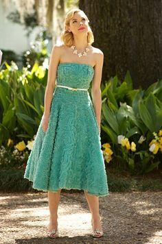 Lemon, love her dresses :)