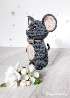 Free amigurumi mouse pattern by Amigurumi Today