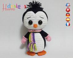 PATTERN - Cute Penguin (Amigurumi Crochet)