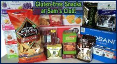 A Dozen Gluten-Free and Family Friendly Snacks from your Local Sam's Club!